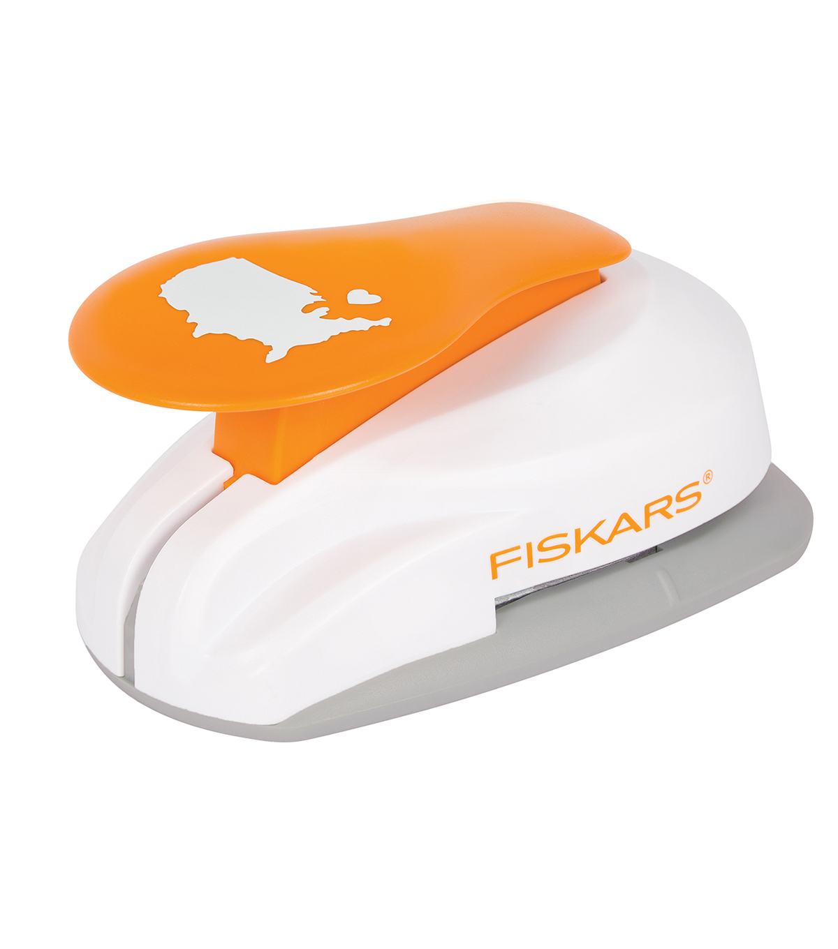 Fiskars XXL Lever Punch-U.S. With Heart