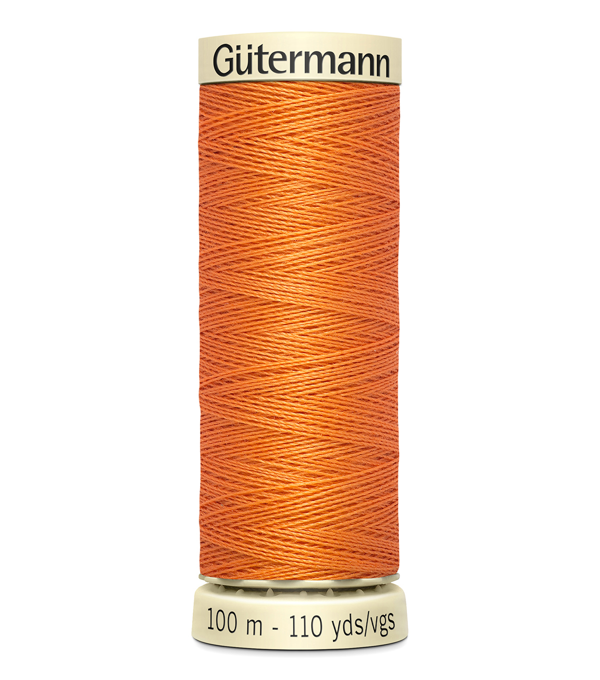 Gutermann Sew All Polyester Thread 110 Yards-Oranges & Yellows , Apricot #460