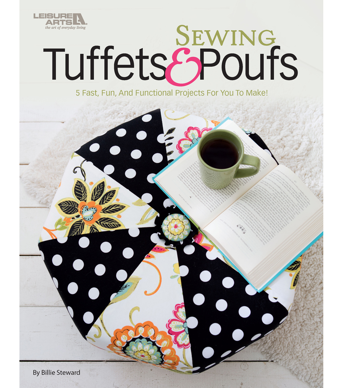 Leisure Arts Sewing Tuffets and Poufs