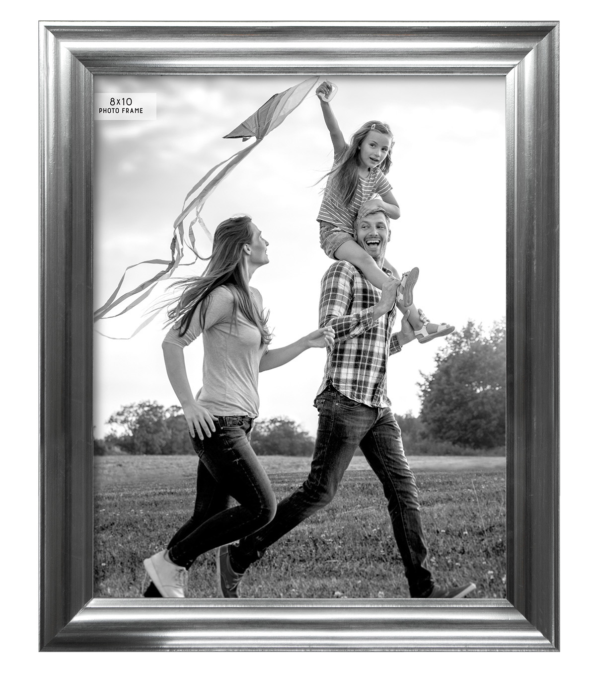 Tabletop Frame 8X10-Core Brushed Silver