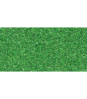 Core\u0027dinations Glitter Silk Collection Sheet - 12 x 12 inches, Green Sheen