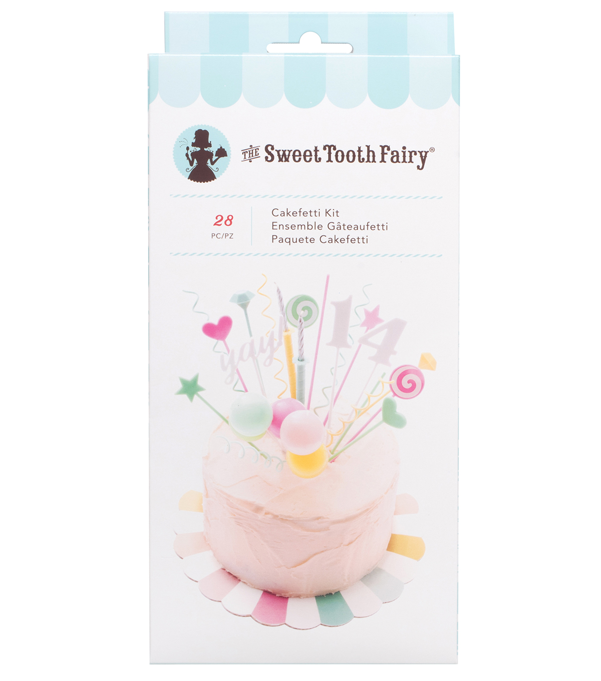The Sweet Tooth Fairy 28 pk Cakefetti Kit