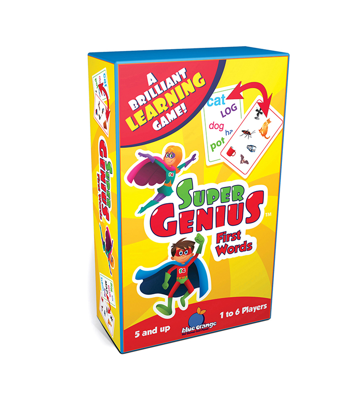 Blue Orange Games Super Genius First Words Game, Pack of 2