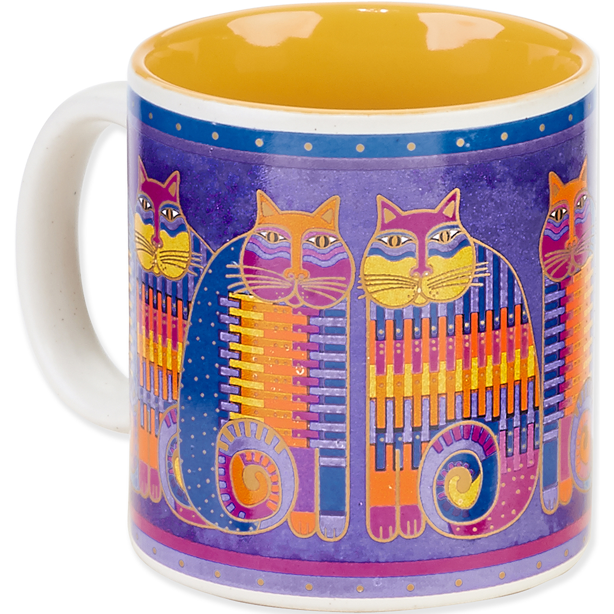 Laurel Burch Cat Cousin Mug