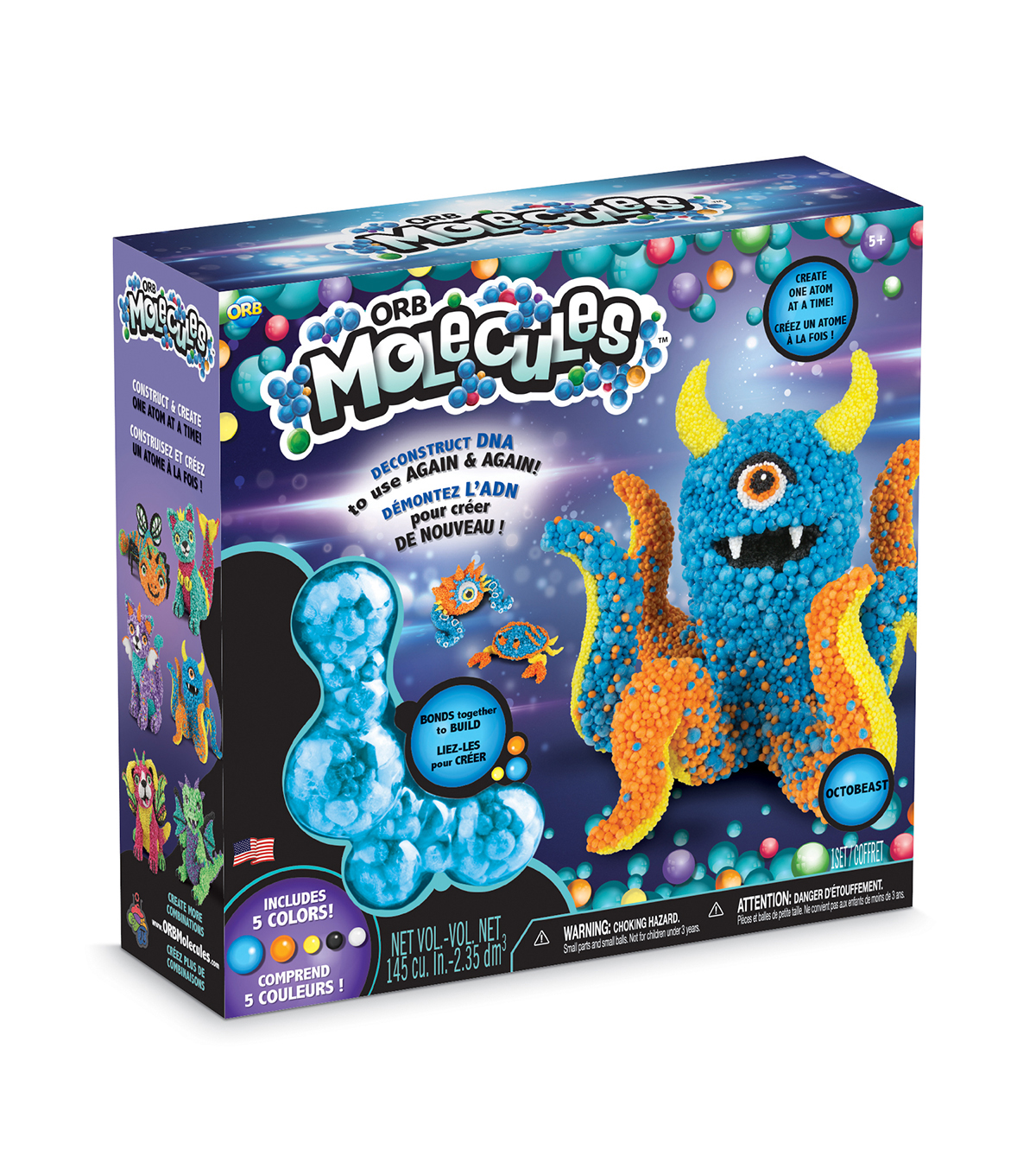 The Orb Factory ORBMolecules Octobeast Activity Kit