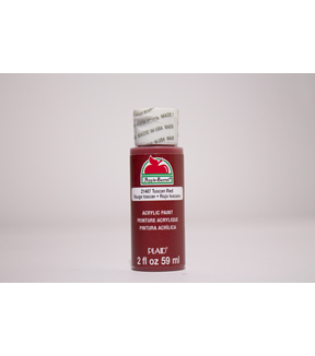Apple Barrel 2 fl. oz. Acrylic Paint, Tuscan Red