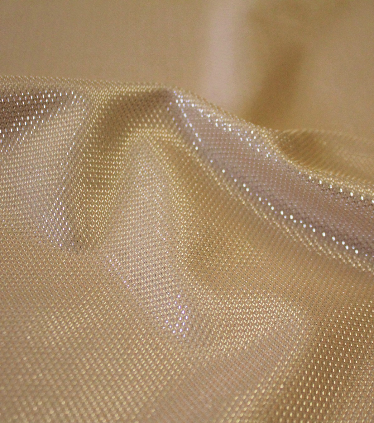 Sparkle Armor Fabric, Champagne