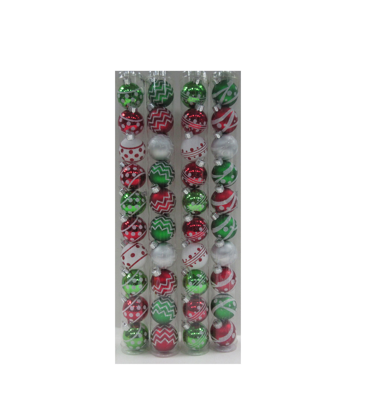 Maker\u0027s Holiday Christmas Whimsy Workshop 10pk 40mm Boxed Ornaments