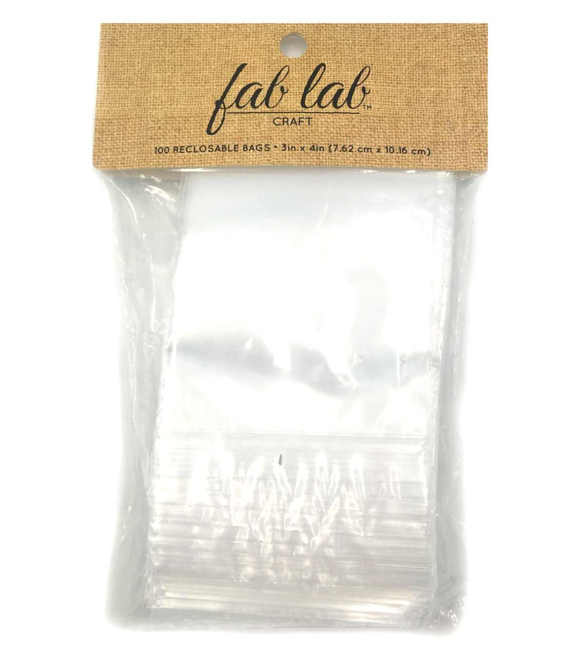 Reclosable Storage Bags 3\u0022X4\u0022-100/Pkg
