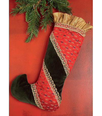 McCall\u0027s Pattern M7523 Christmas Stockings in Four Styles