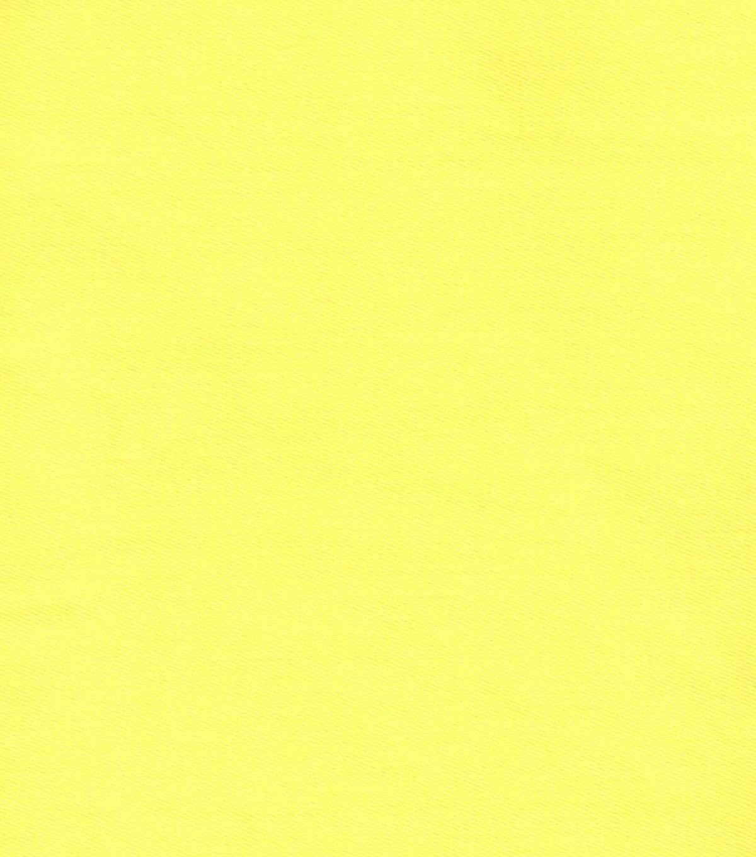 Denim Fabric Solid 7oz Stretch Denim Yellow | JOANN