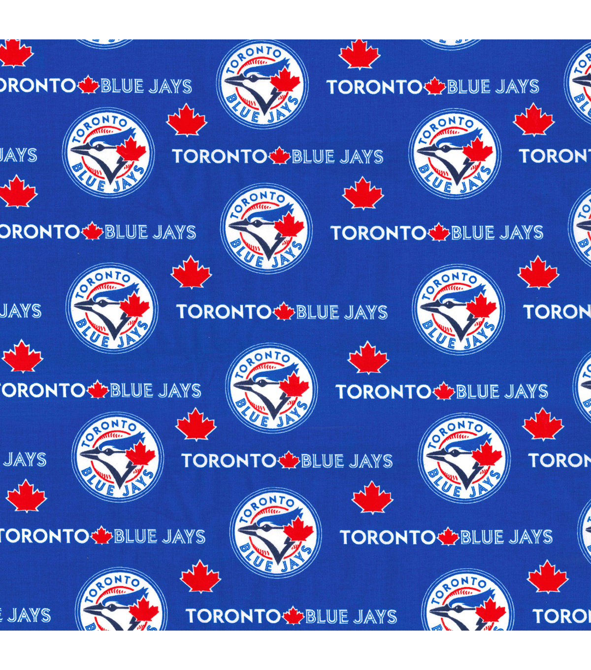 Toronto Blue Jays Cotton Fabric -Logo