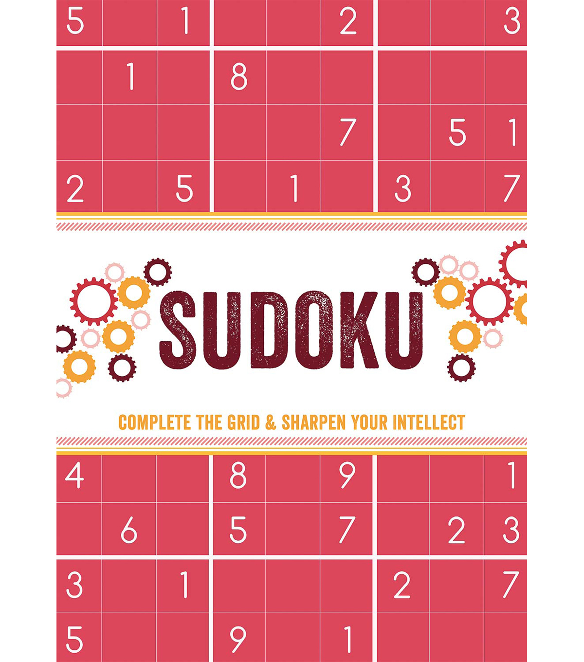 Flip Pad Sudoku Book-Complete the Grid & Sharpen your Intellect