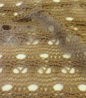 Knit Fabric -Tan