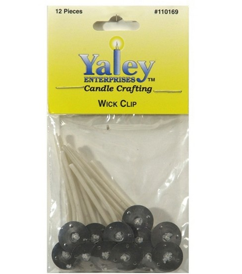 Yaley 2\u0022 Candle Wired Wicks-12PK/15mm