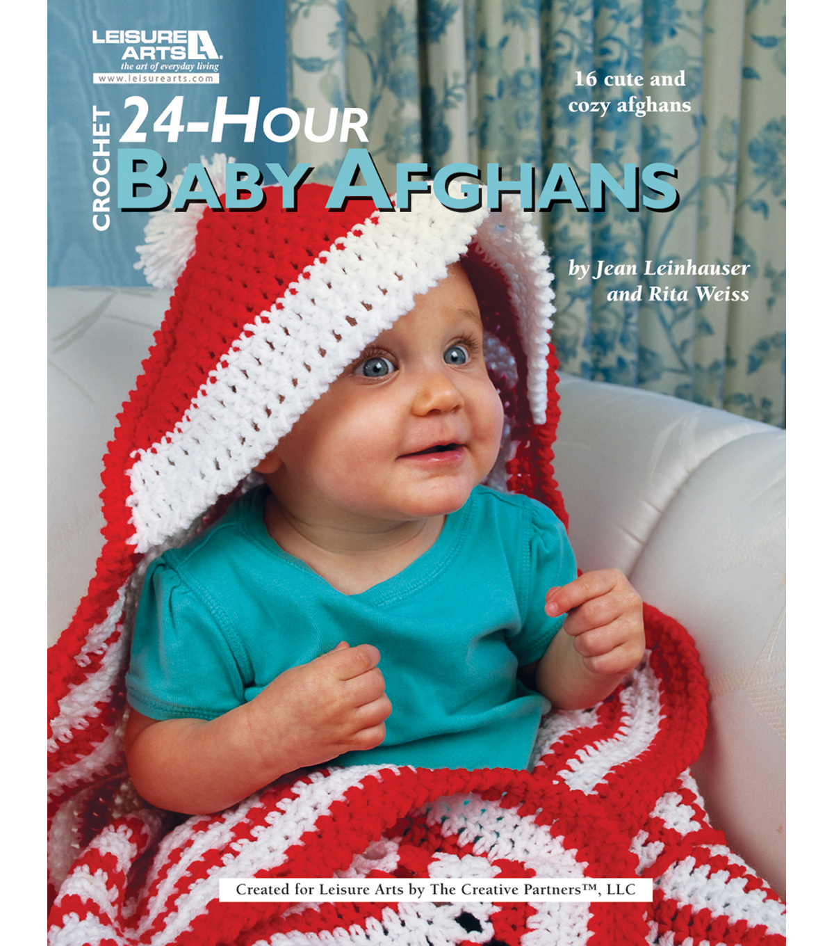 Leisure Arts-Crochet 24 Hour Baby Afghan Book