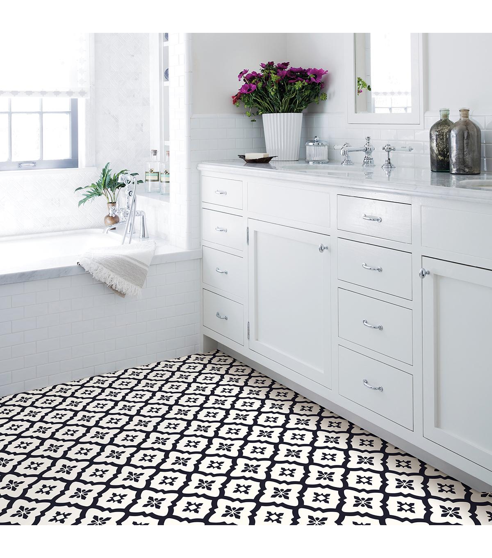 Floorpops L Stick Floor Tiles