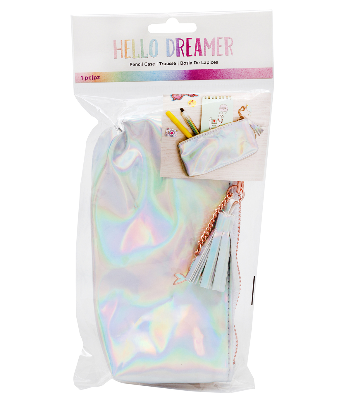 American Crafts Hello Dreamer Pencil Case