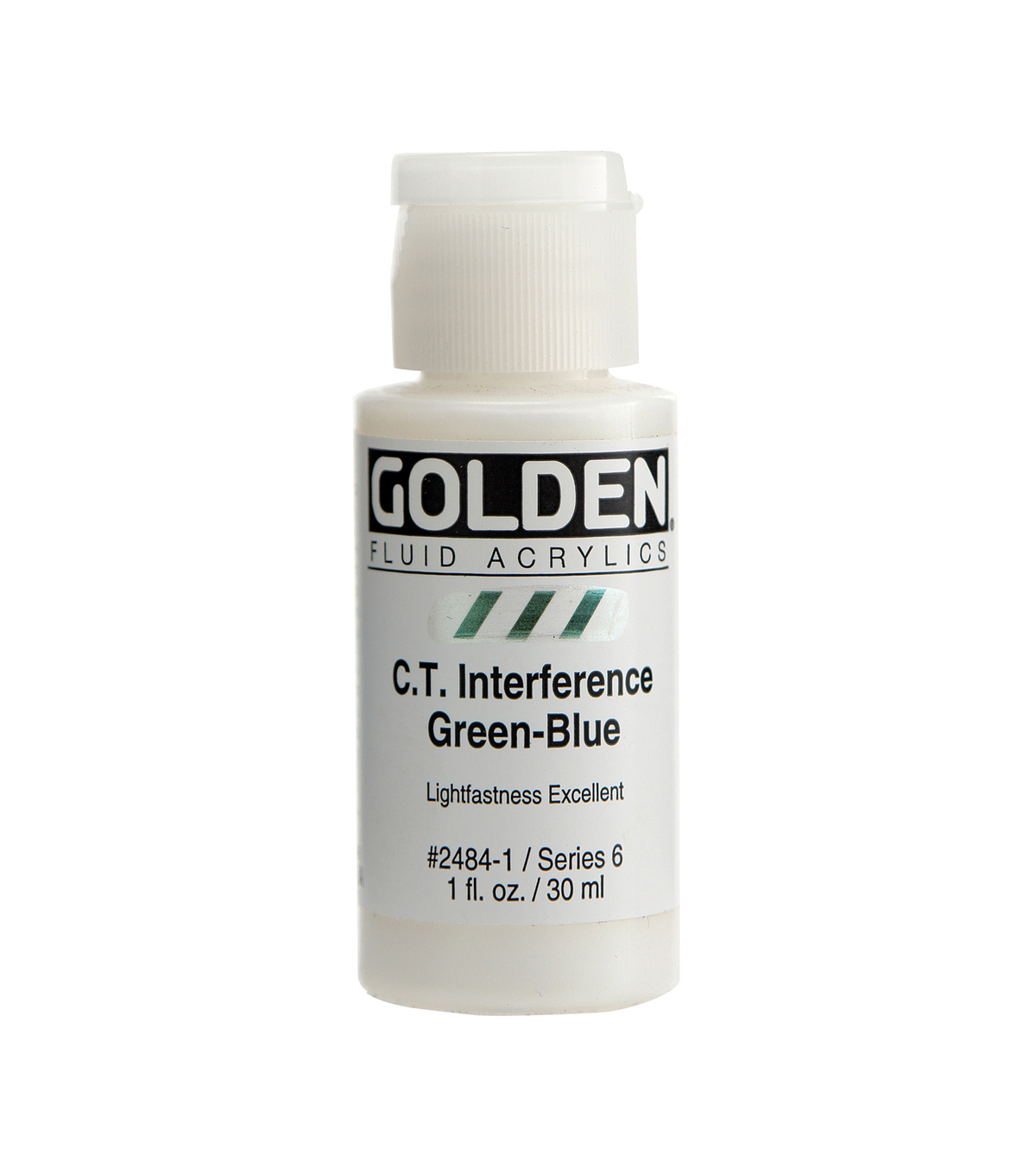 Golden 1 fl. oz. Interference Fluid Acrylic Color