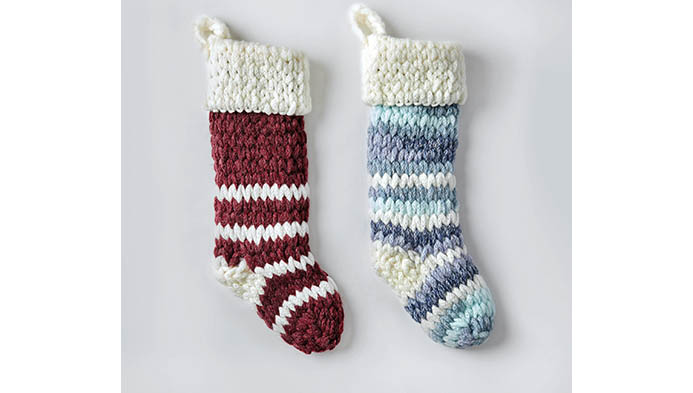 Loop Yarn Stocking