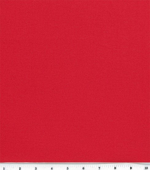 Sew Classic Bottomweight Classic Twill Solid Fabric, Tango Red