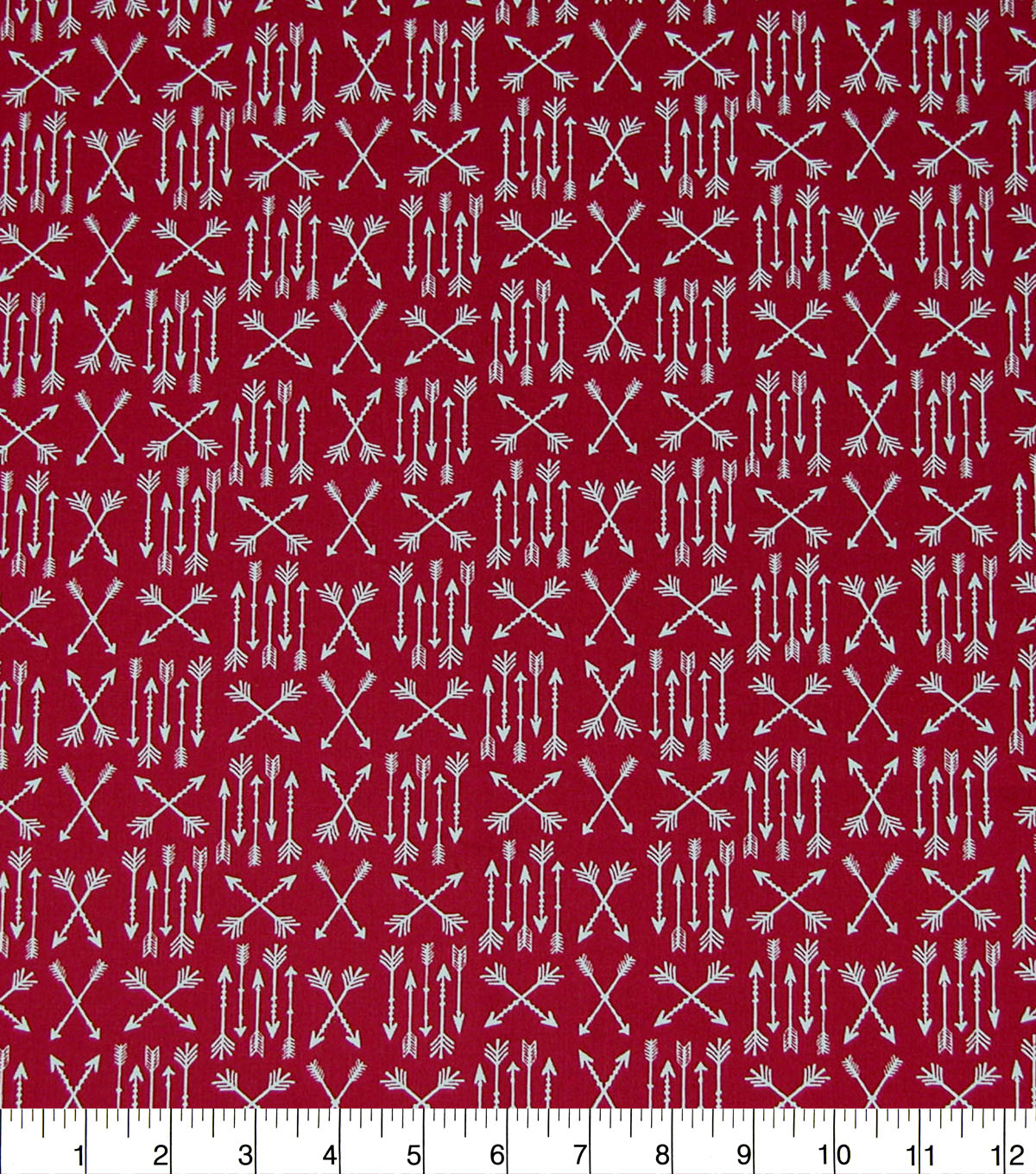 0bc874586 Quilter's Showcase Cotton Fabric-Red Arrow Patches   JOANN