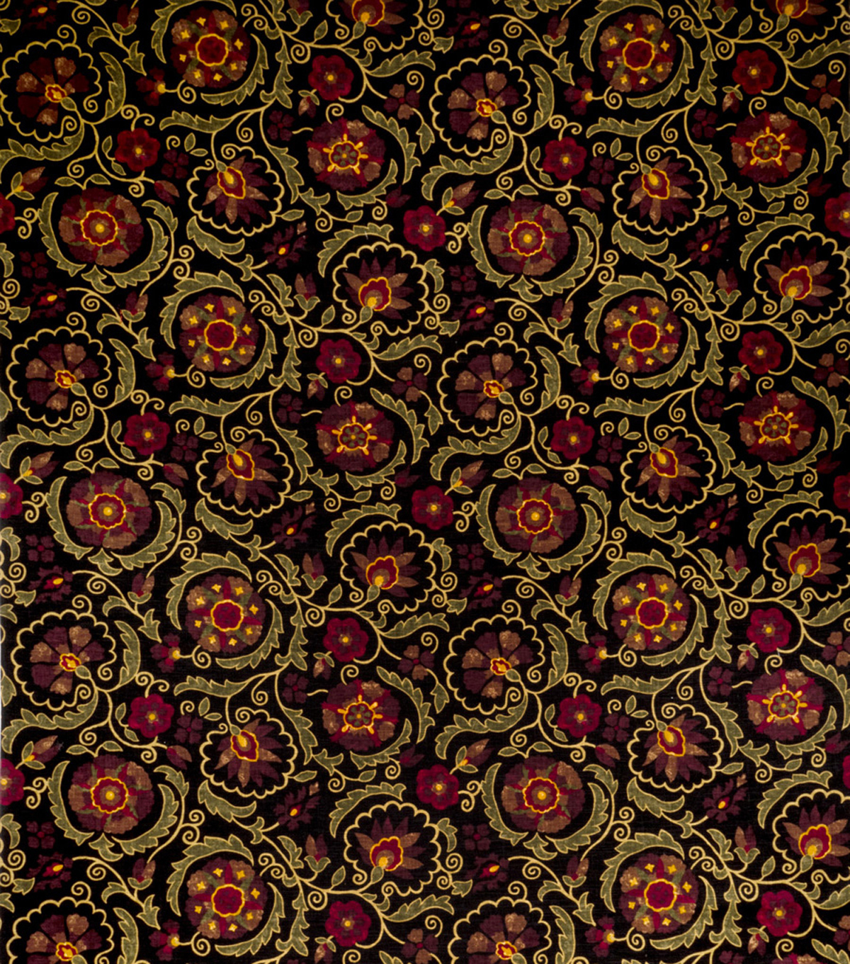 Jaclyn Smith Upholstery Fabric 54\u0022-Clarinet/Berry