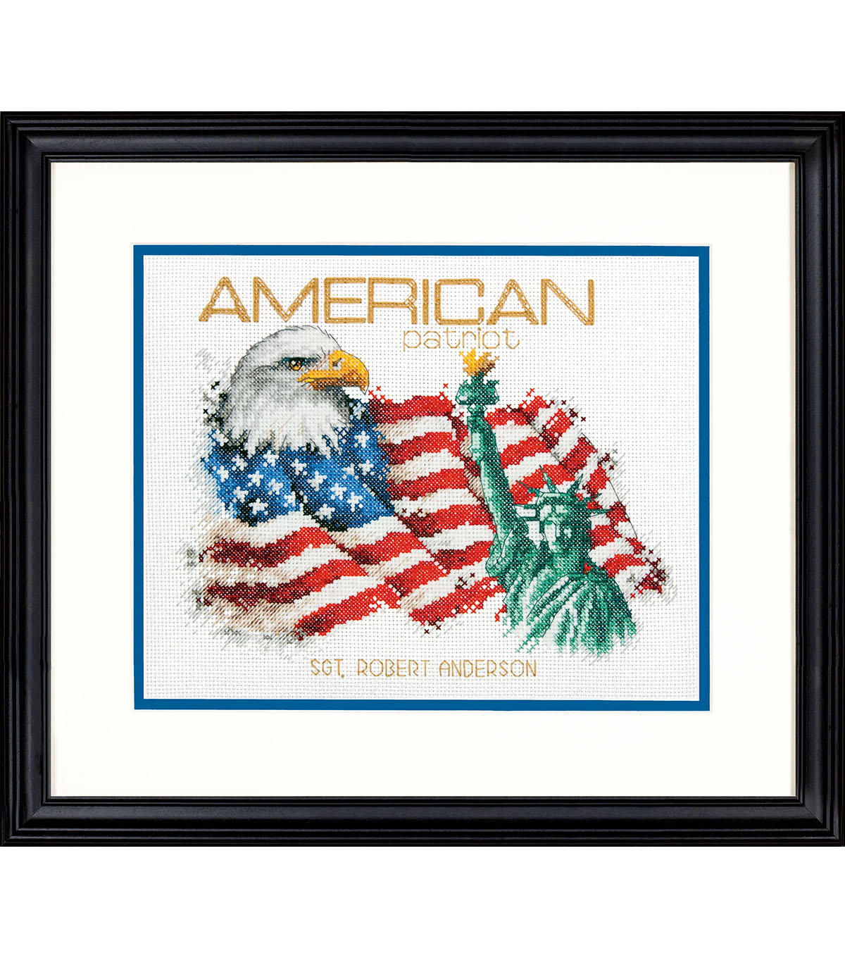 Dimensions 10\u0027\u0027x8\u0027\u0027 Counted Cross Stitch Kit-American Patriot