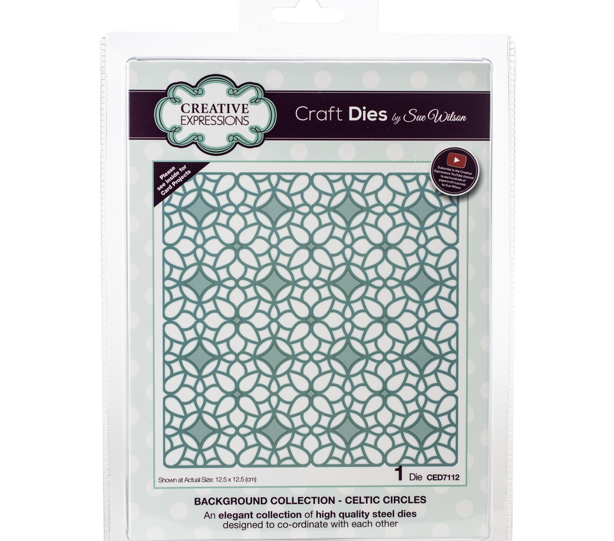 Craft Dies By Sue Wilson-Background Collection-Celtic Circles