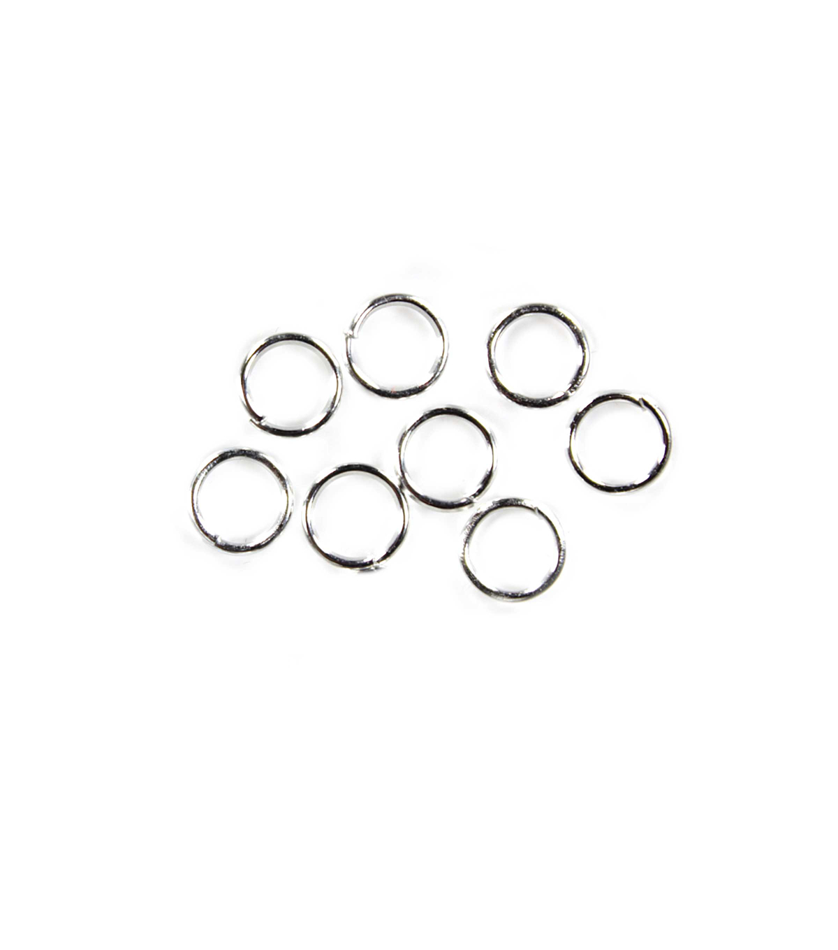 Blue Moon Findings Jump Ring Metal Value Pack 6mm Silver