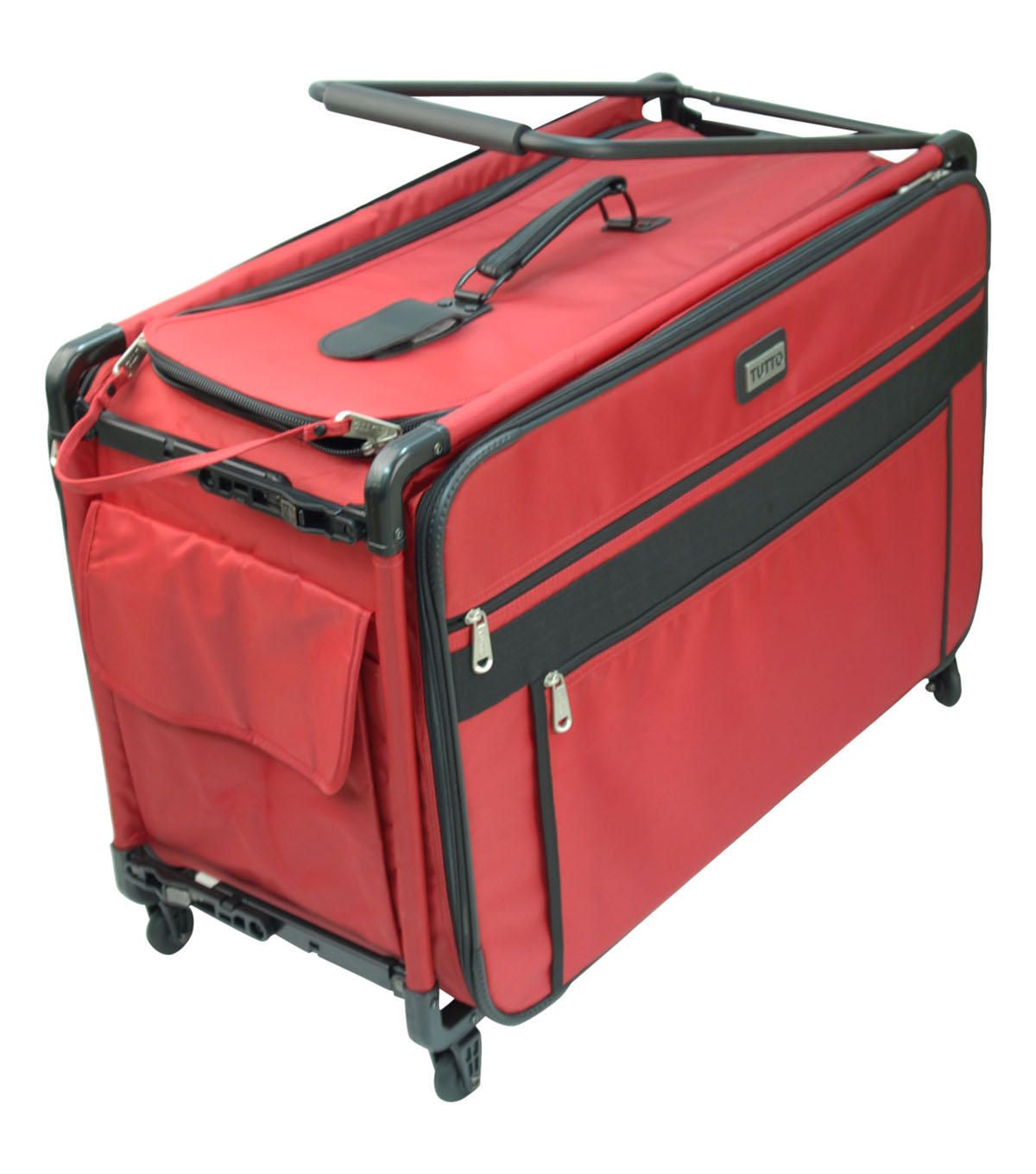 TUTTO Machine on Wheels Case-Red