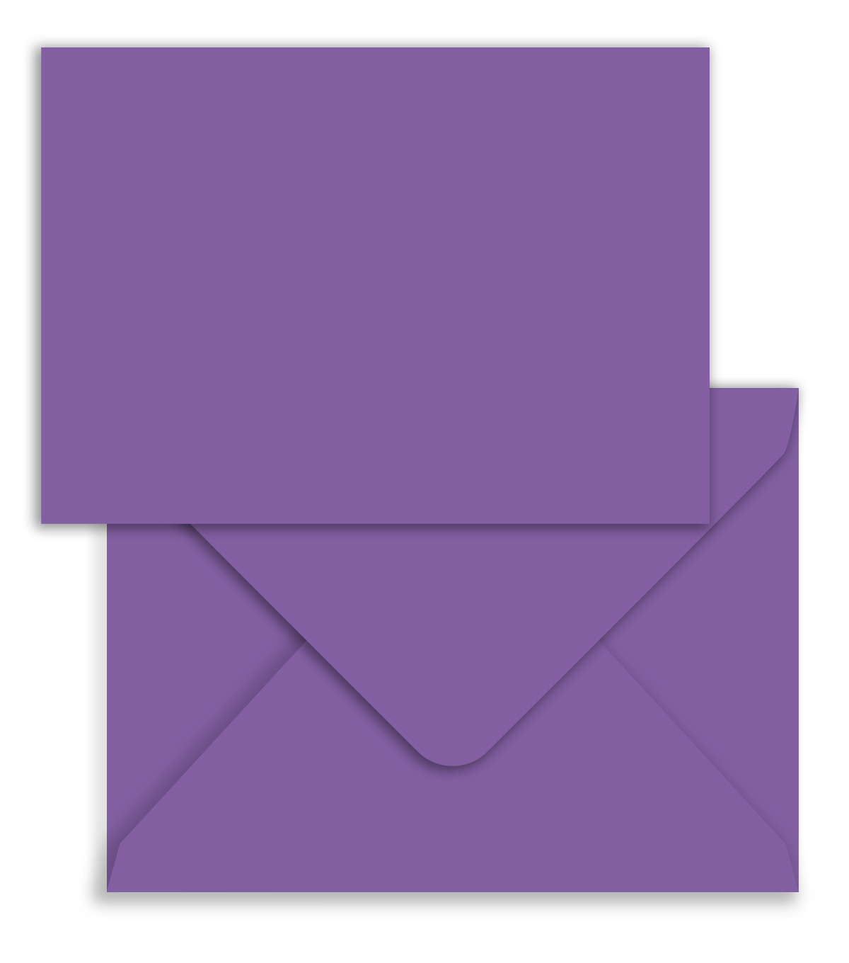 Park Lane A7 Cards & Envelopes-Purple