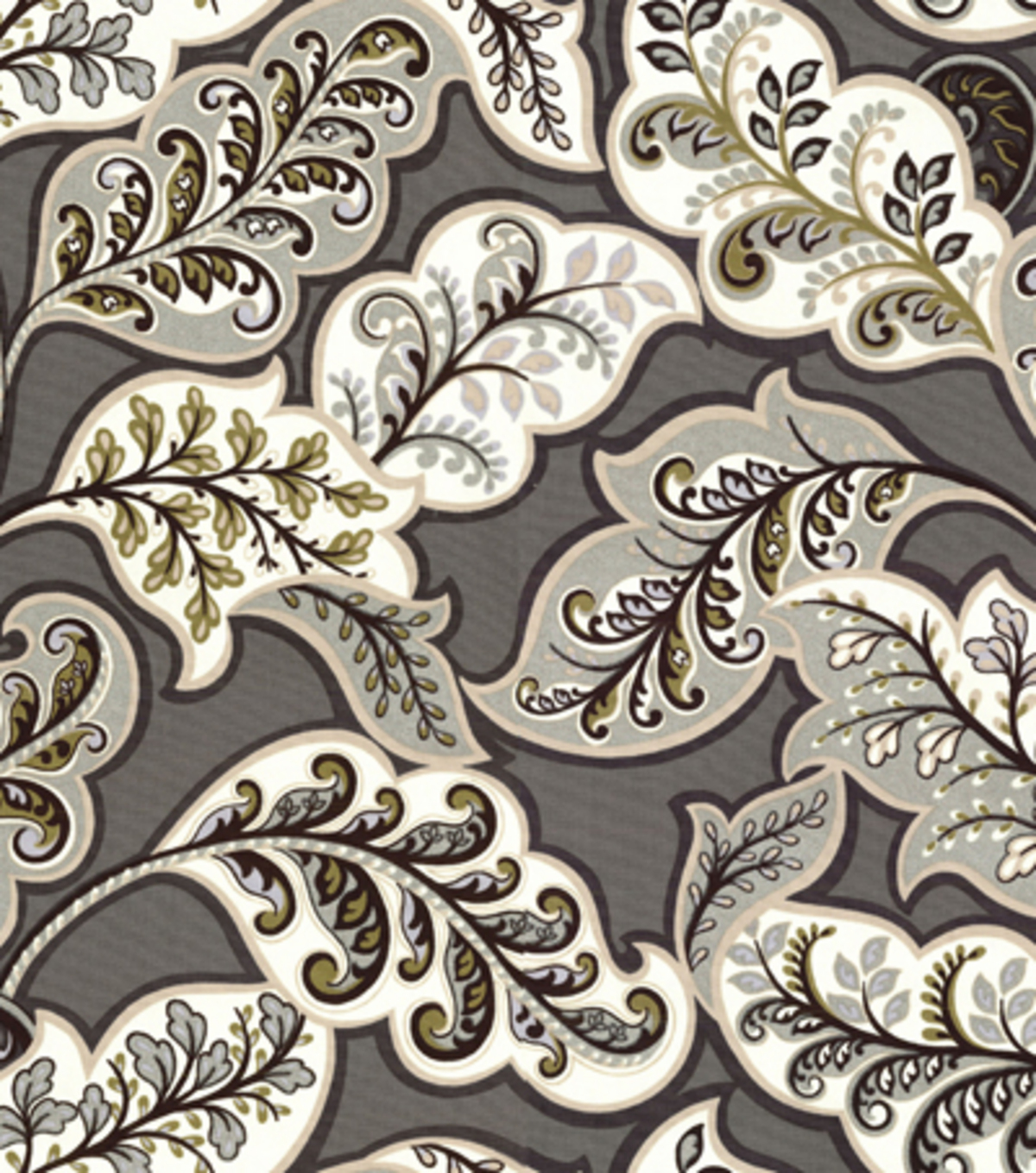 Home Decor 8\u0022x8\u0022 Fabric Swatch-HGTV HOME Deco Drama Zinc