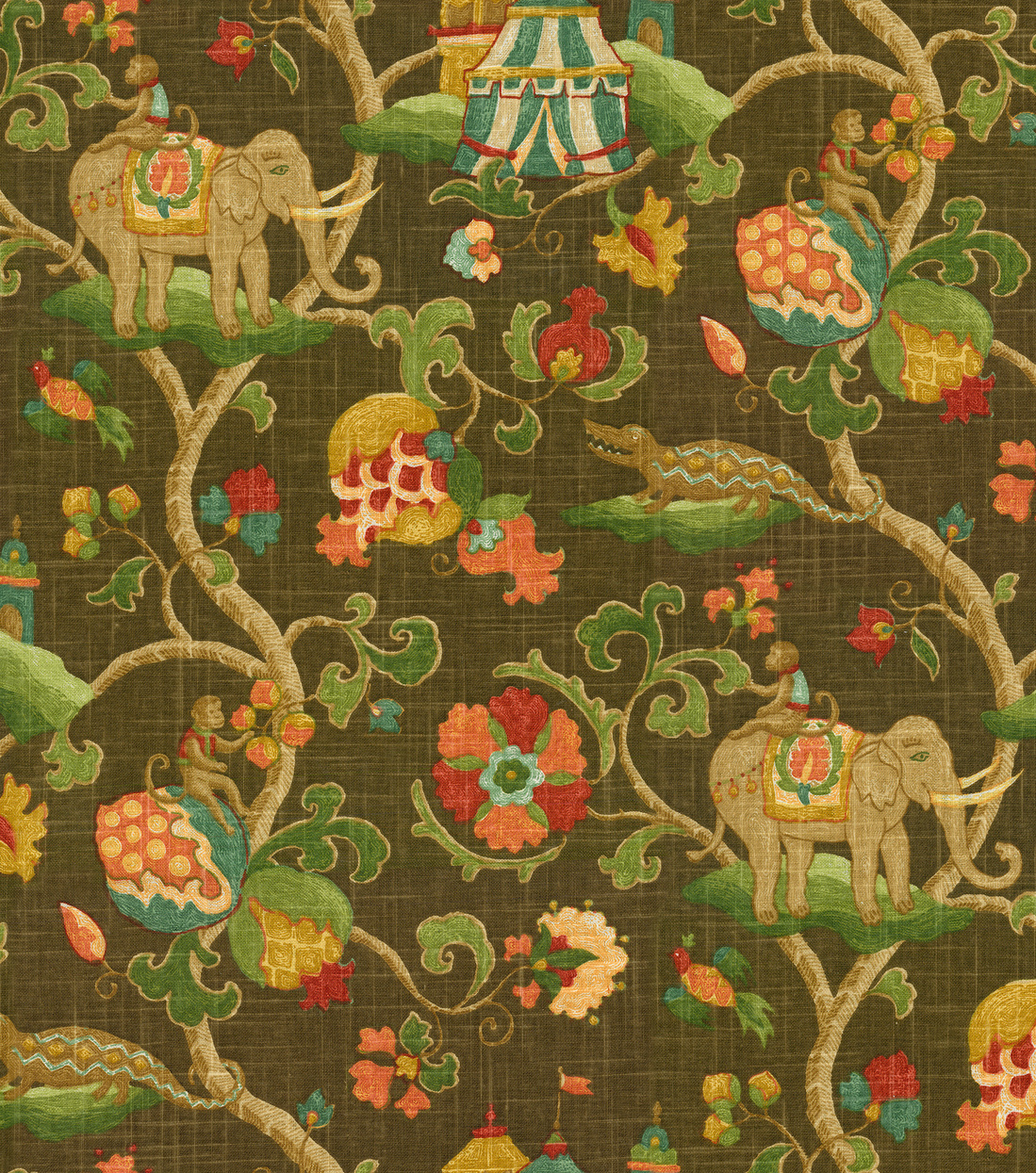 Home Decor 8\u0022x8\u0022 Fabric Swatch-Pkaufmann Uzbek Tapestry