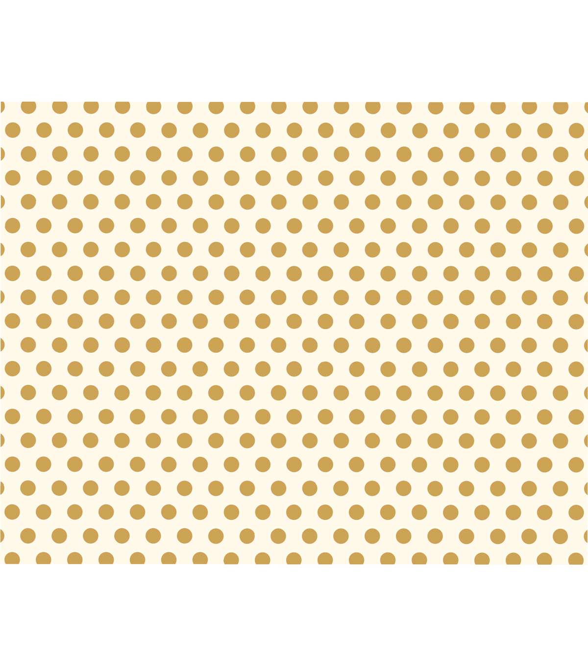 American Crafts We R Memory Keepers 22\u0027\u0027x28\u0027\u0027 Poster Board-Gold Dots