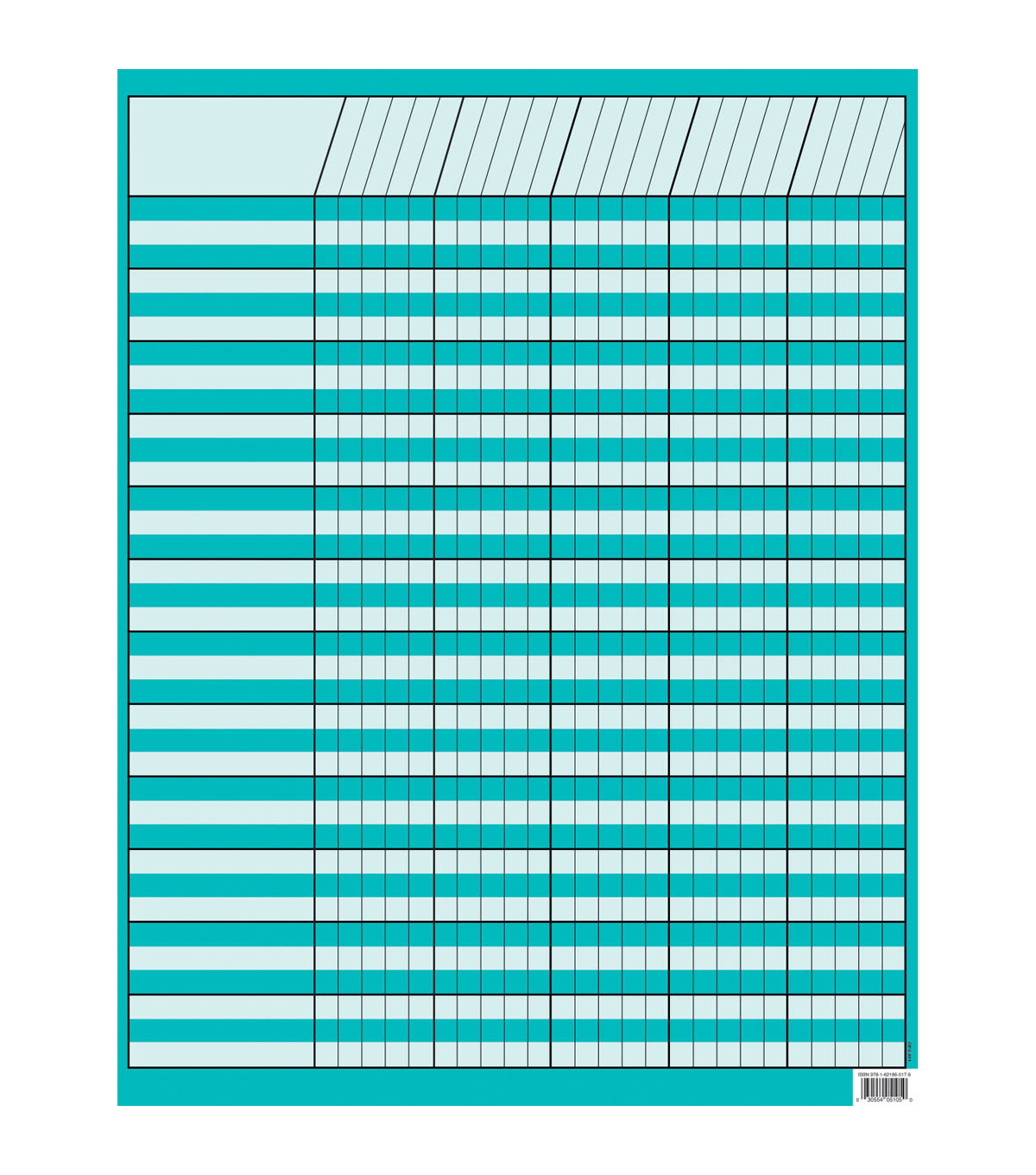 Turquoise Incentive Chart, Pack of 10