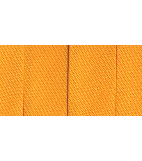 Wrights Extra Wide Double Fold Bias Tape, Marigold