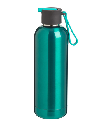 Stainless Steel Brisk Vacuum Bottle, Aqua