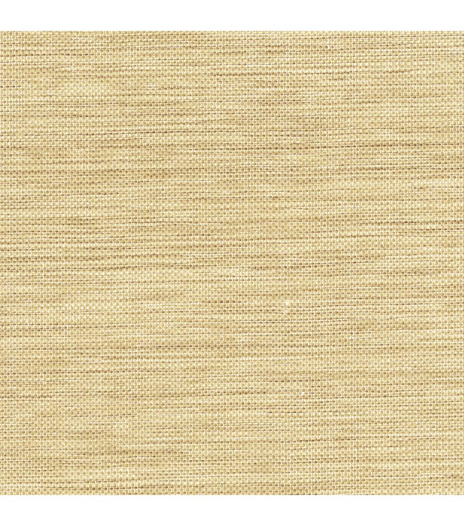 Li Ming Beige Grasscloth Wallpaper Sample