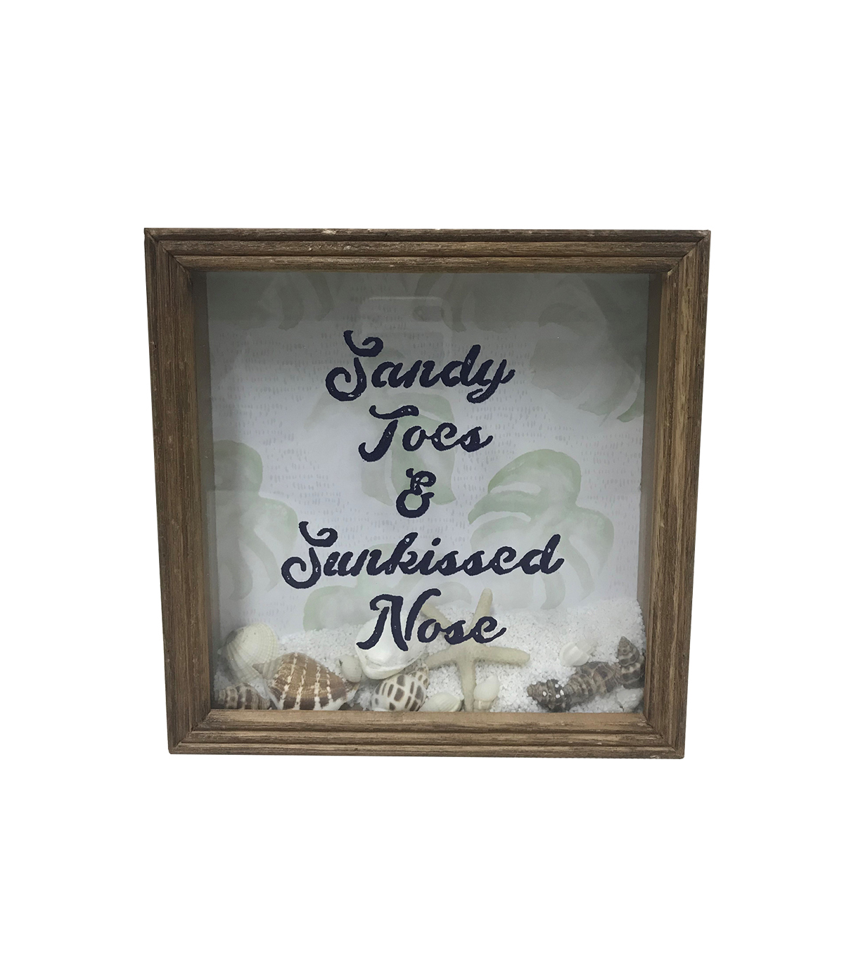 Indigo Mist Tabletop Decor-Sandy Toes & Sunkissed Nose