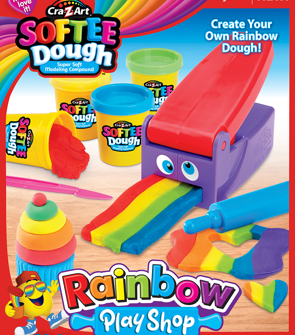 CraZart Softee Dough Rainbow Magic