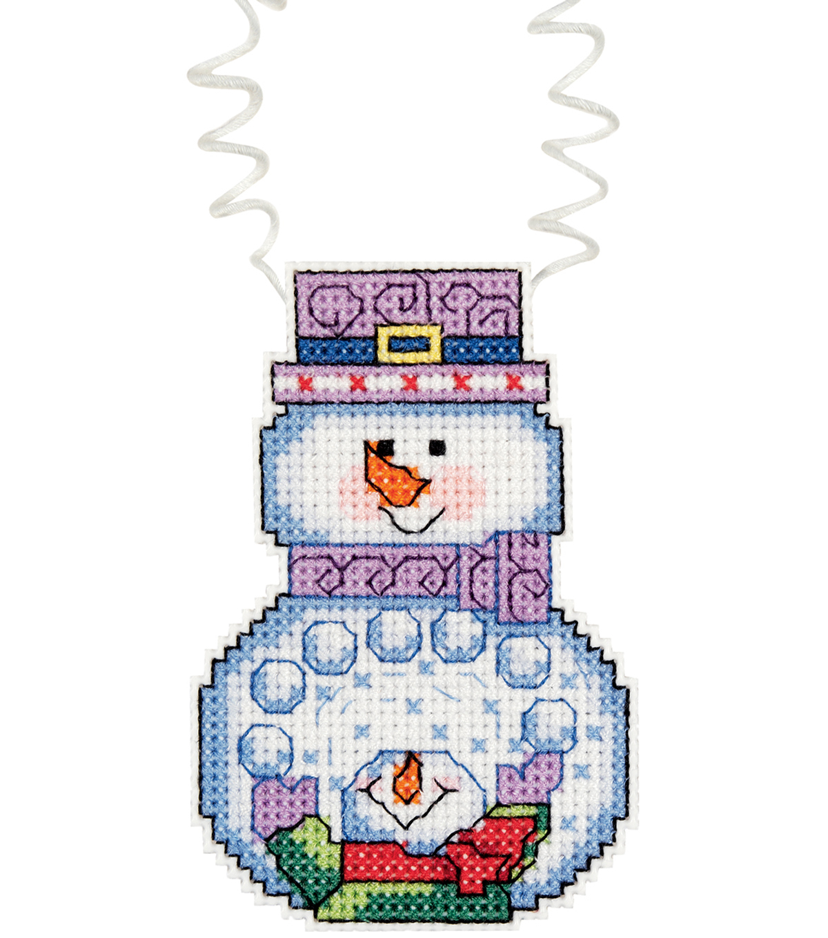 Janlynn Holiday Wizzers Snowballs Counted Cross Stitch Kit