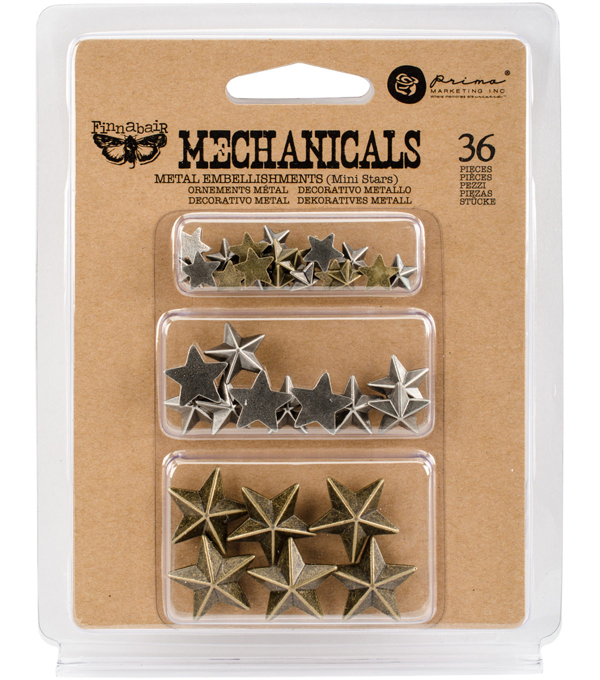 Mini Stars-mechanicals Emblshmt