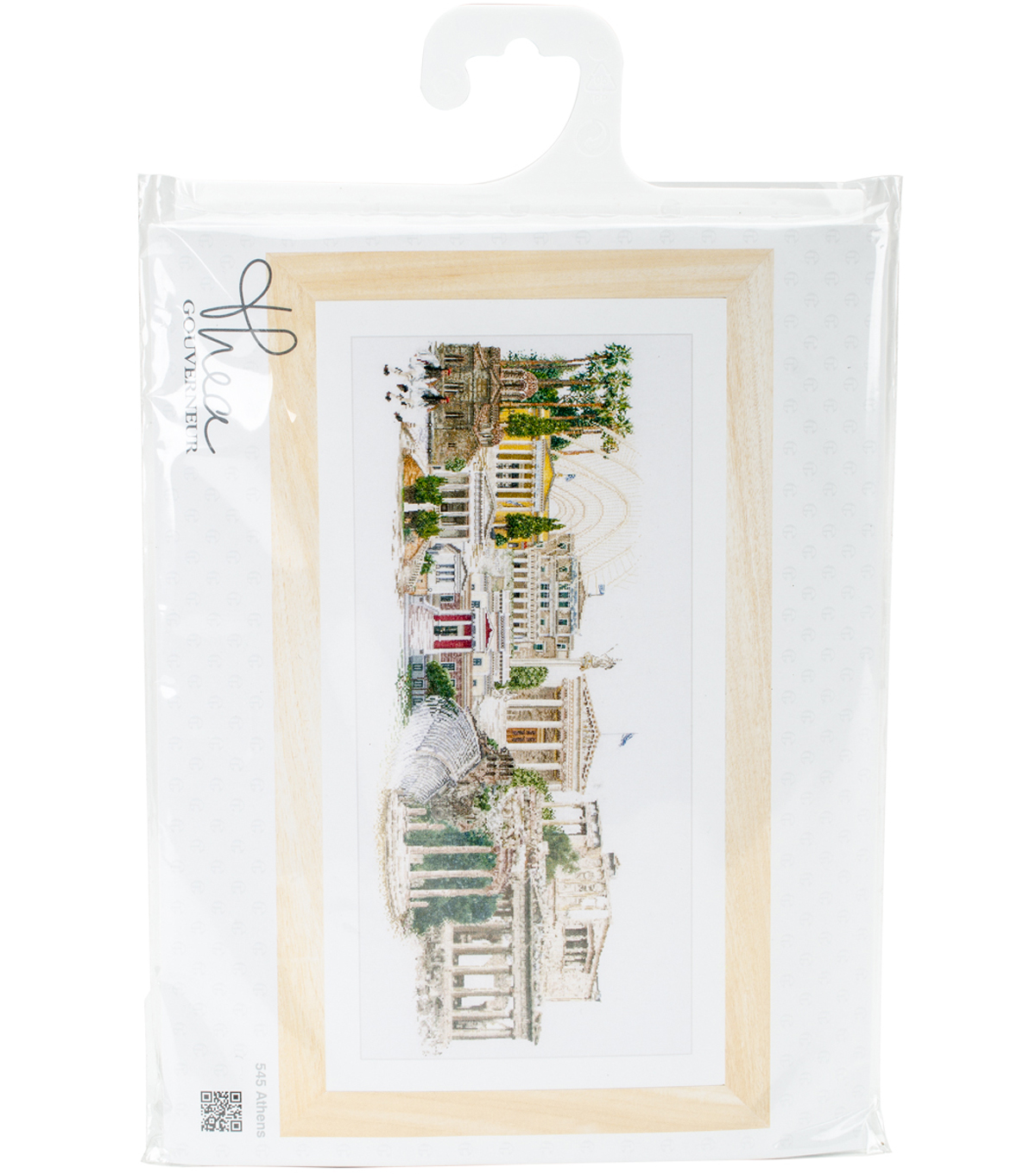 Thea Gouverneur 31\u0027\u0027x20\u0027\u0027 Aida Counted Cross Stitch Kit-Athens