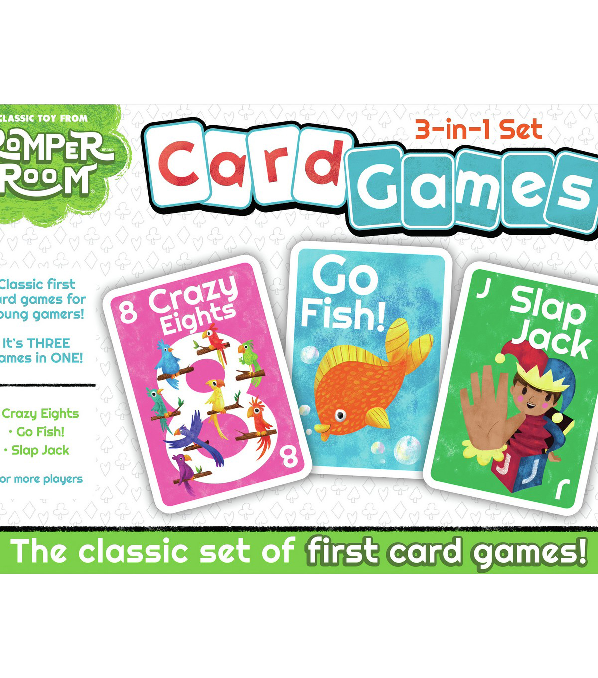 Classic Card Games-3-In-1 Set