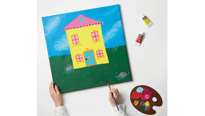 Learn To Paint With Acrylics For Kids