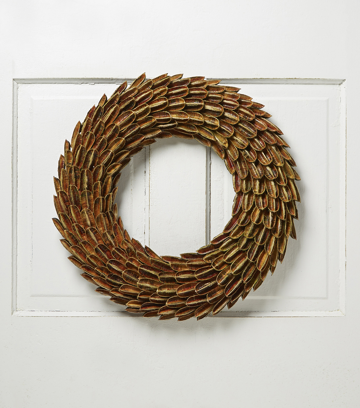 Bloom Room Natural And Foam Sisal Shell Wreath