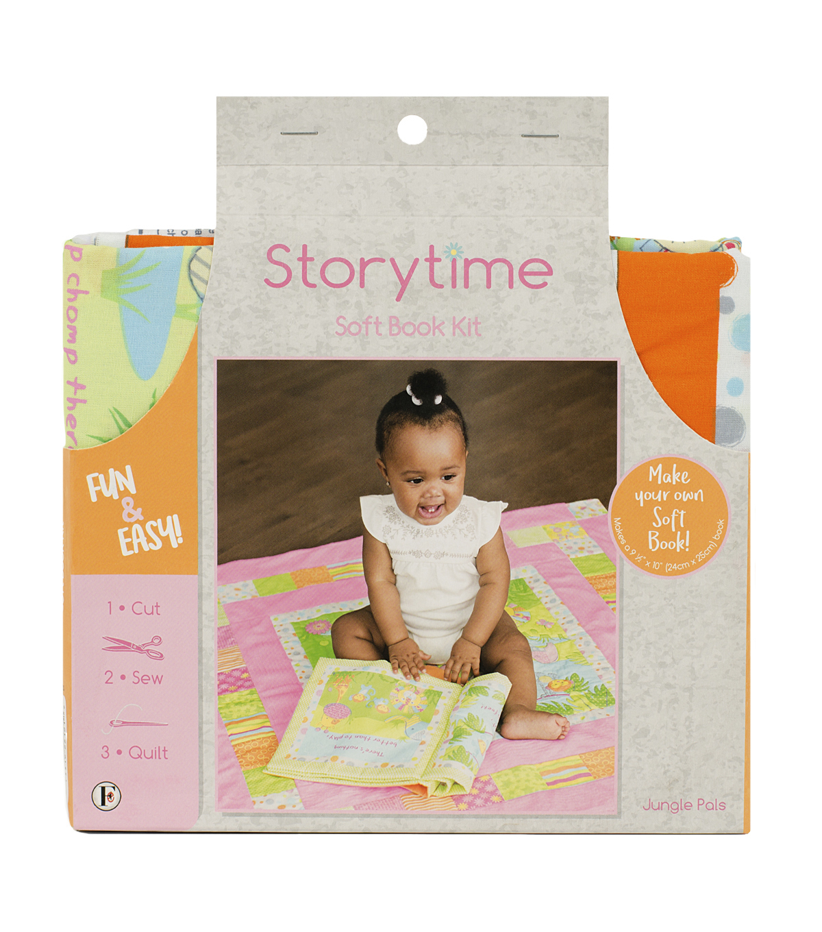Storytime Soft Book Kit-Jungle Pals