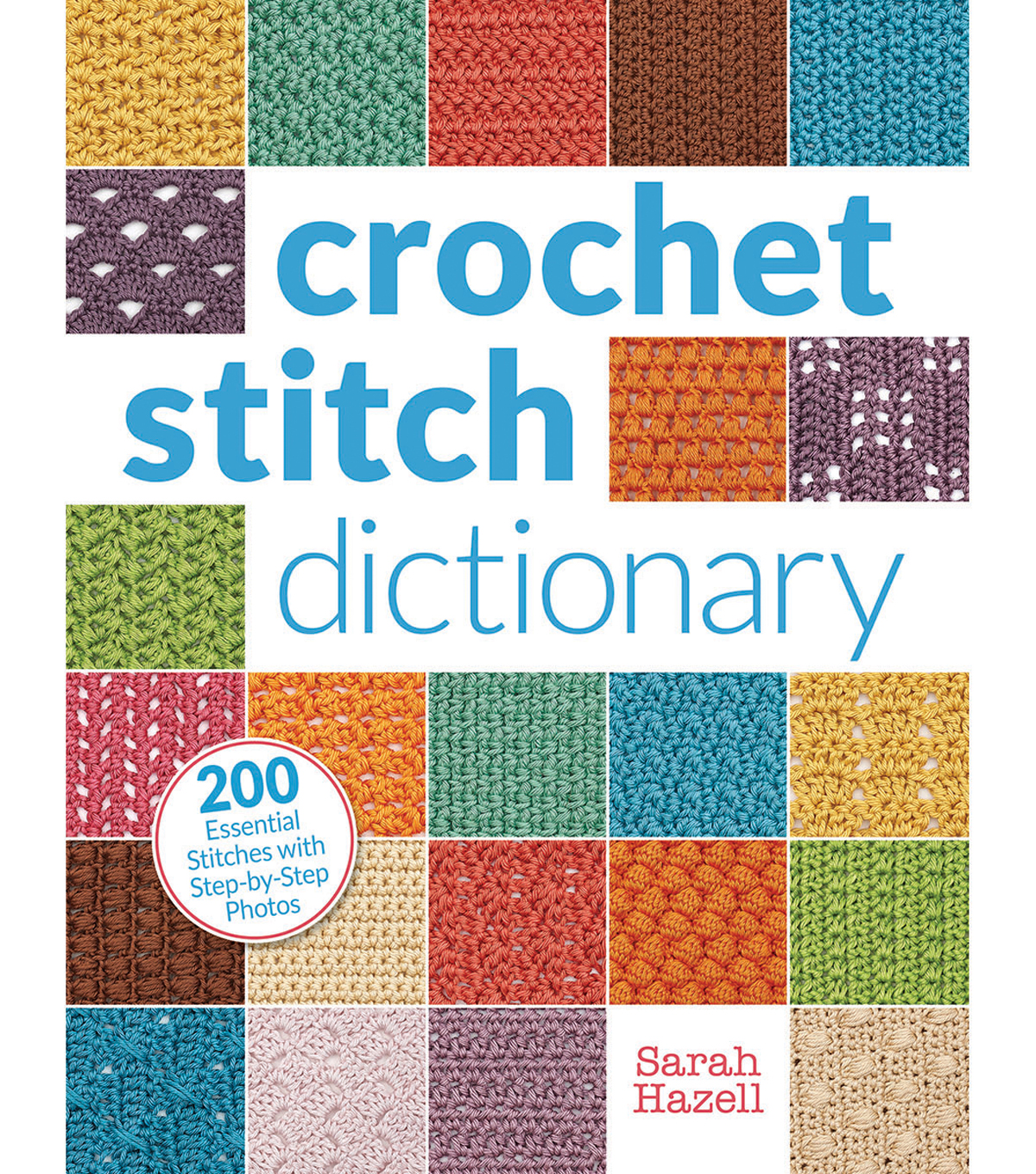 Crochet Stitch Dictionary Book