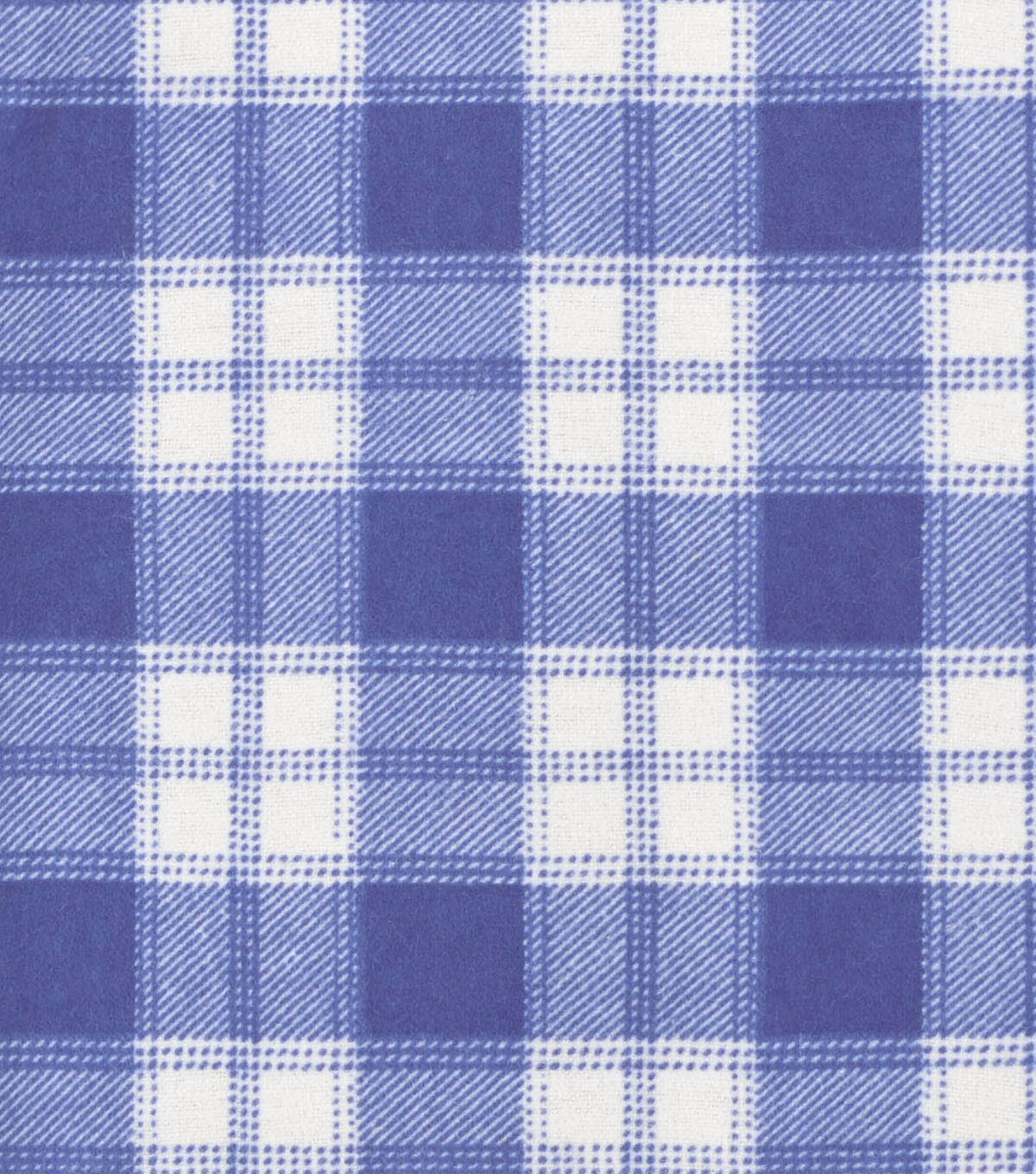 Snuggle Flannel Fabric 42\u0022-Plaid Blue